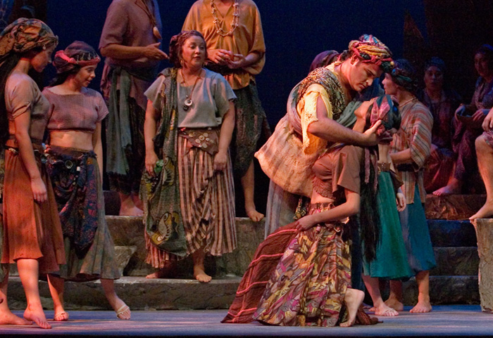MaryAnne in a scene from The Pearl Fishers