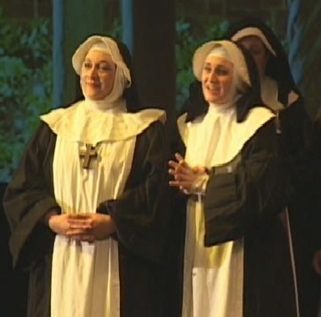 opera scene from Suor Angelica