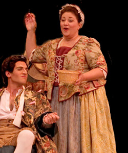 opera scene from The Marriage of Figaro